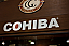 cohiba cigars trade show sign image