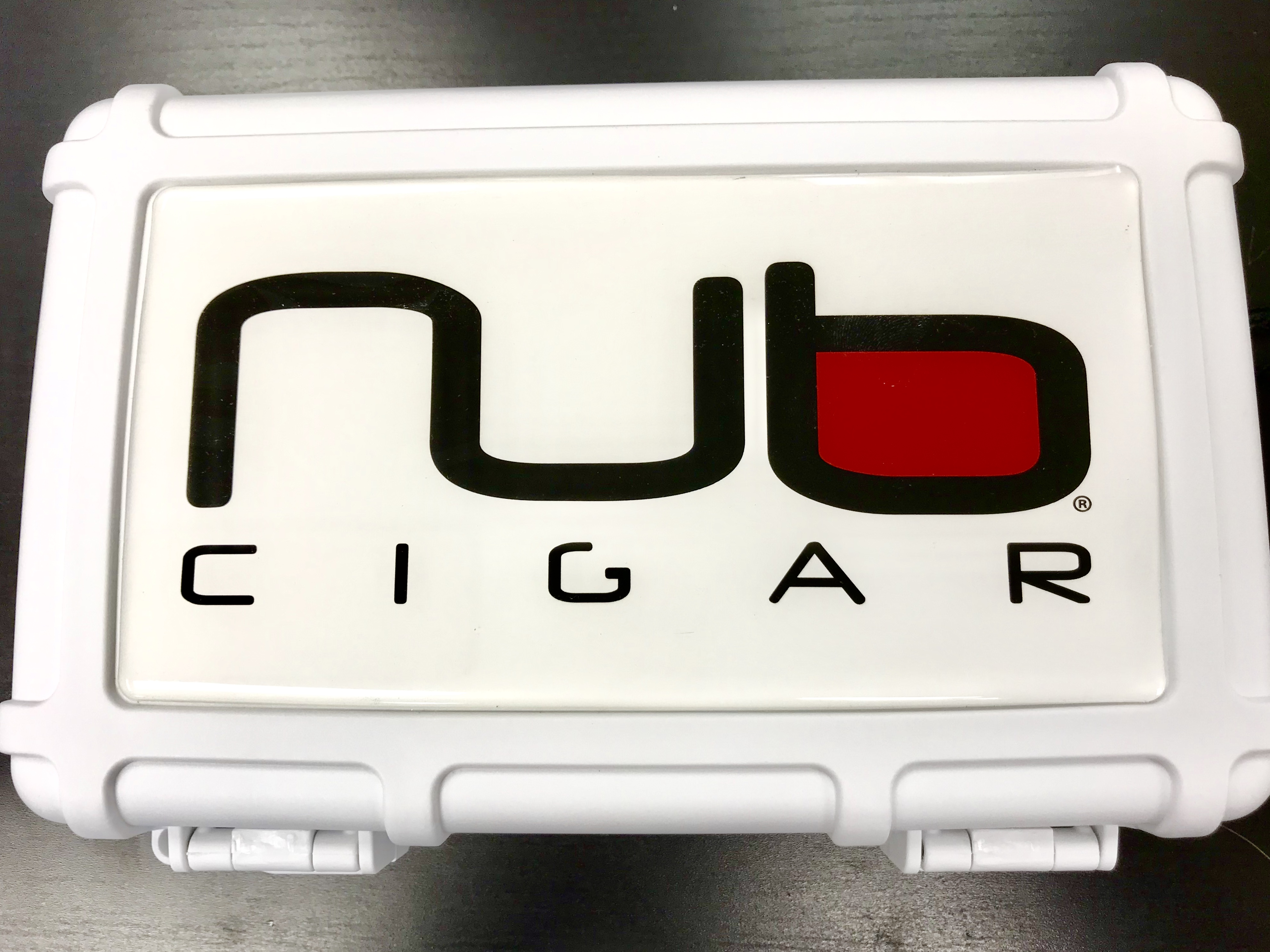 Nub Cigars Logo Heavy Duty Travel Case, Holds 5-8 Cigars image