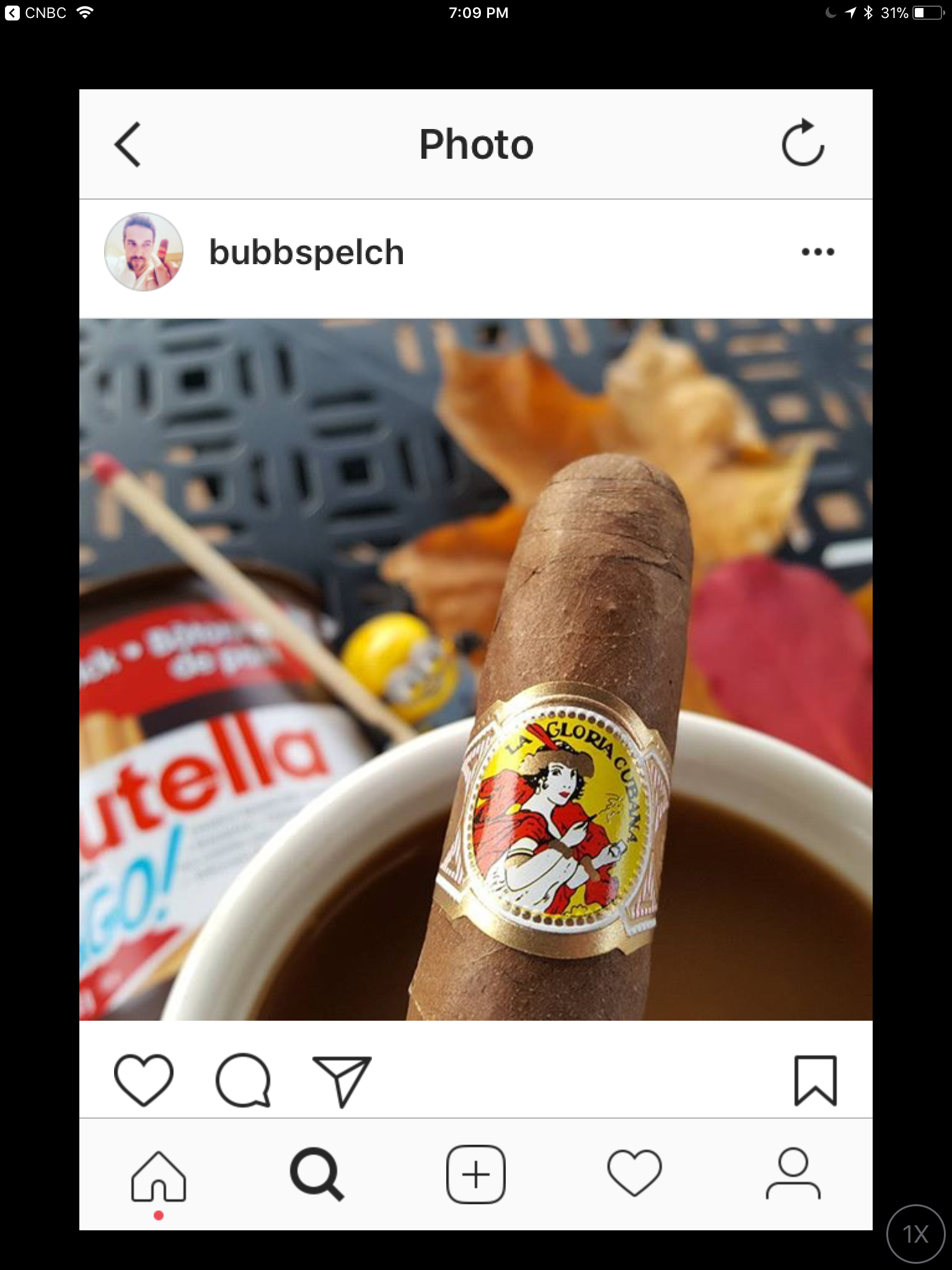 la gloria cubana cigars Instagram post by permission image