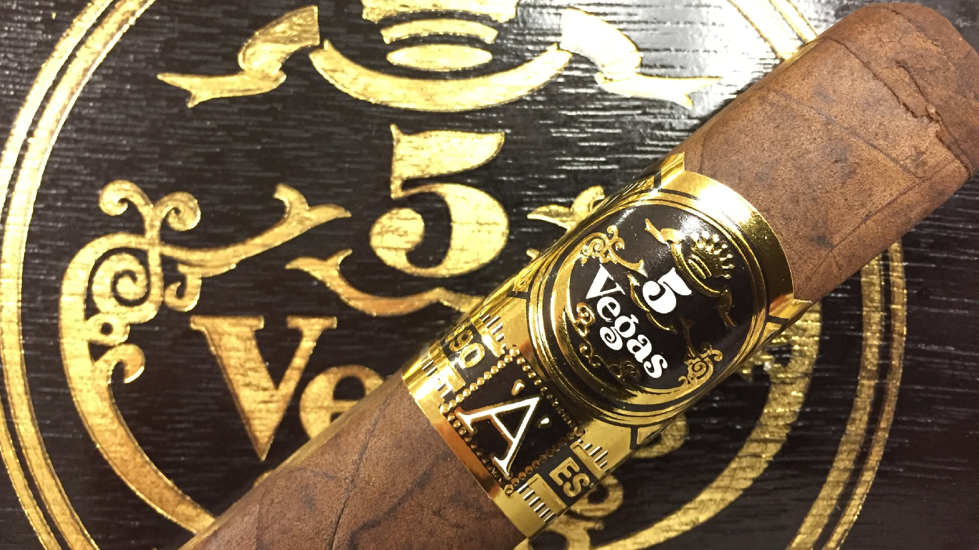 5 Vegas Series A Atomic, Robusto - 5 Pack image