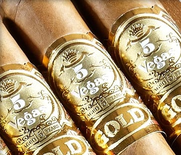 5 vegas gold toro cigars sticks image