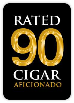 cigar aficionado rated 90 image