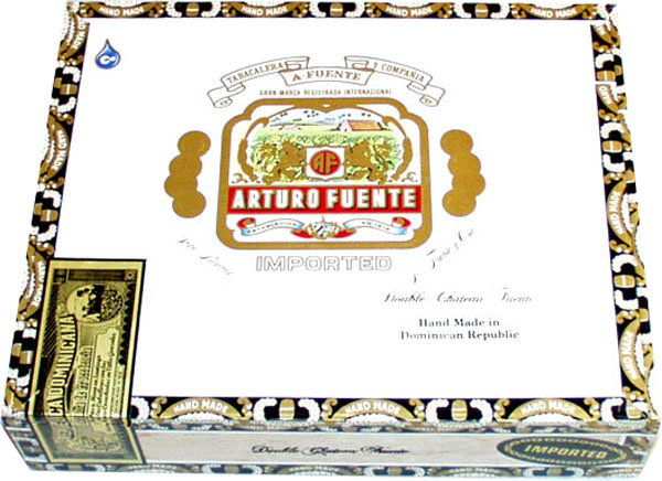 arturo fuente churchill natural cigars box closed image