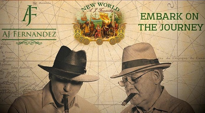 New World by AJ Fernandez Almirante, Belicoso - Box of 21 image