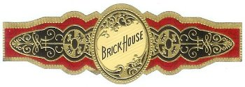brick house robusto cigar band image