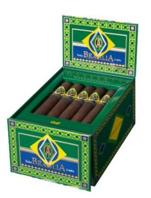 cao brazilia samba cigars box open image