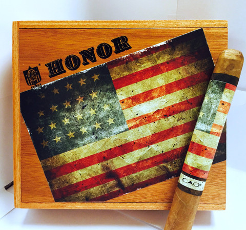 CAO Honor Empty Cigar Box for Collectors! image