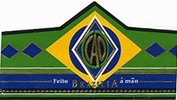 cao brazilia samba cigar band image