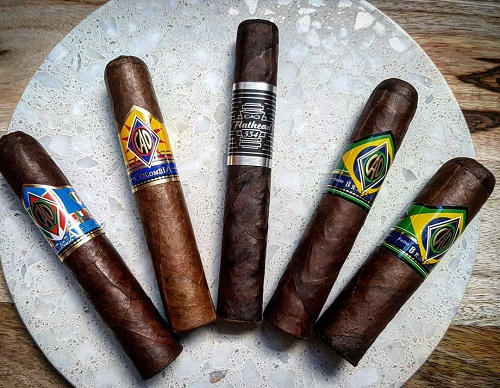 CAO Cameroon CAO 8 Cigar Sampler - All Rated 90+ image