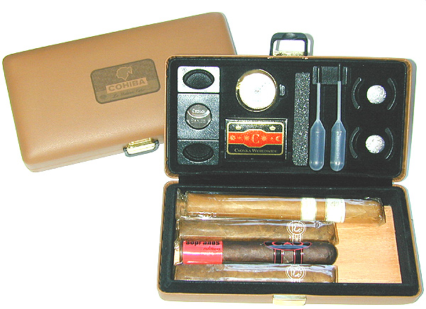 Partagas Limited Partagas Logo Travel Case Humidor - Napa Leather image