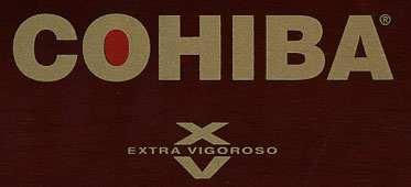 cohiba xv 652 cigar label image