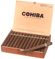 cohiba red dot cigars box image