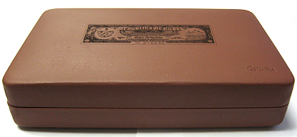 Por Larranaga Cuban Seal Travel Case Humidor - Napa Leather image