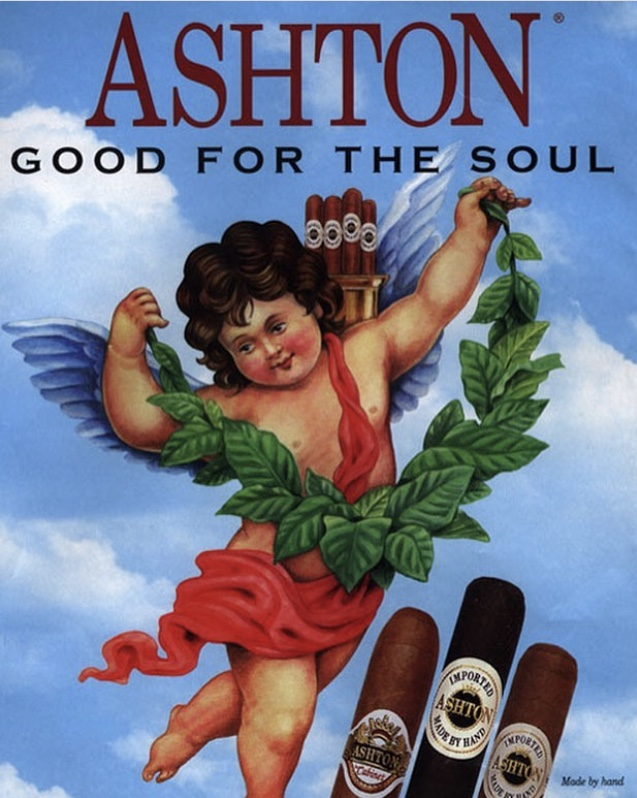 ashton cigars graphic image