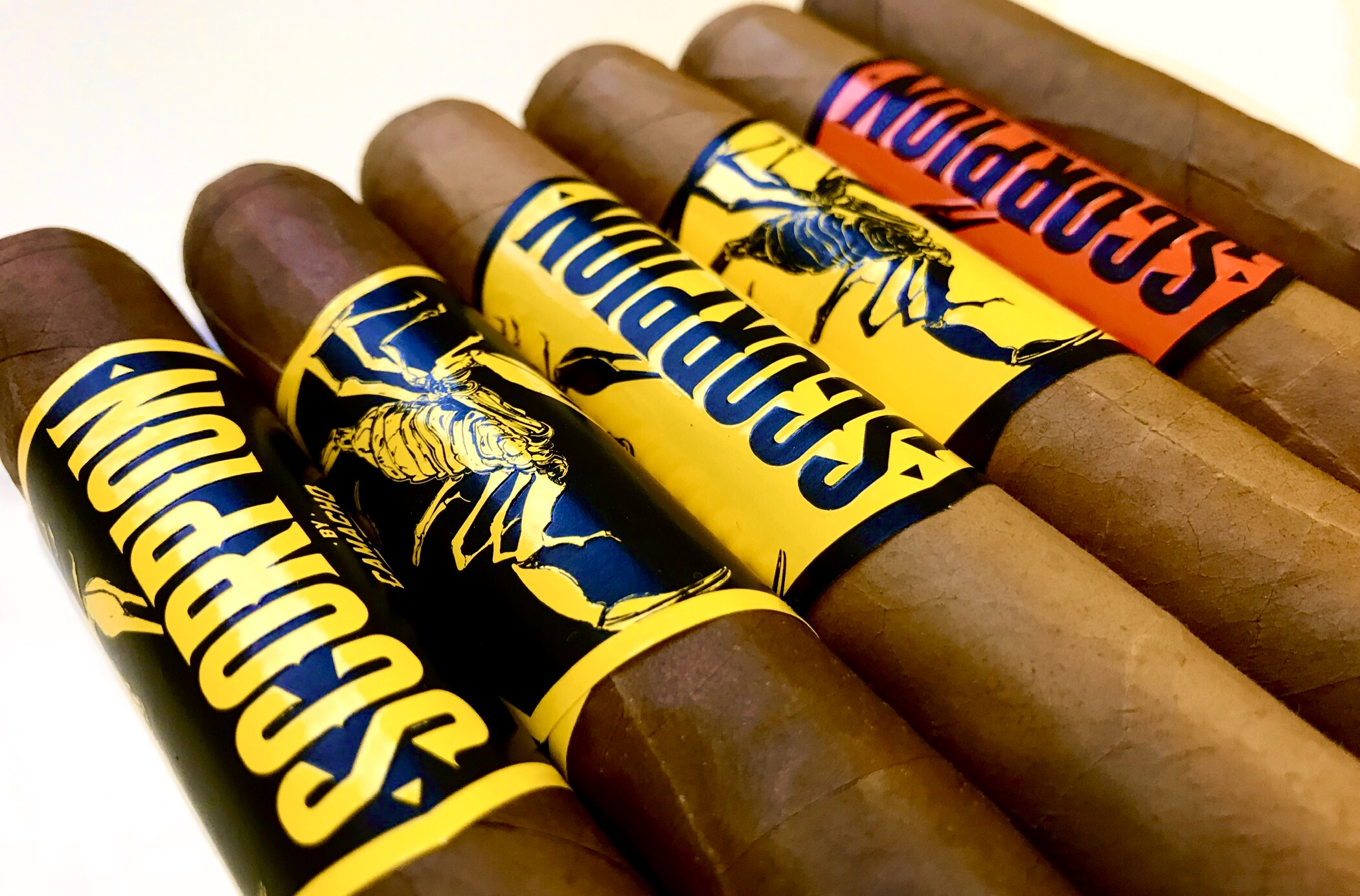 camacho scorpion cigars sampler image