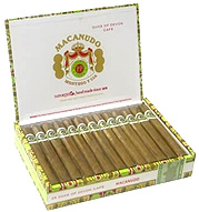 macanudo cafe cigars box open image