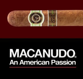 Macanudo Gold Label Hampton Court, Robusto - 5 Pack image