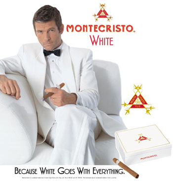 montecristo white churchill cigar ad image
