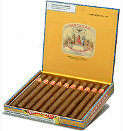 partagas cigars box open image