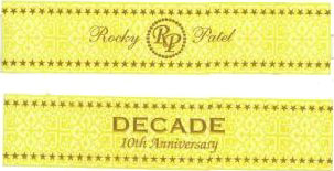rocky patel decade cigars band image