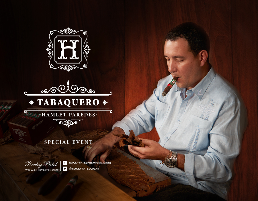 tabaquero by hamlet paredes cigars graphic image