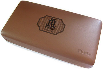 Trinidad Trinidad Logo Leather Travel Humidor, Napa Leather image