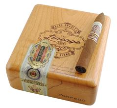 alec bradley lineage gordos cigar box closed image