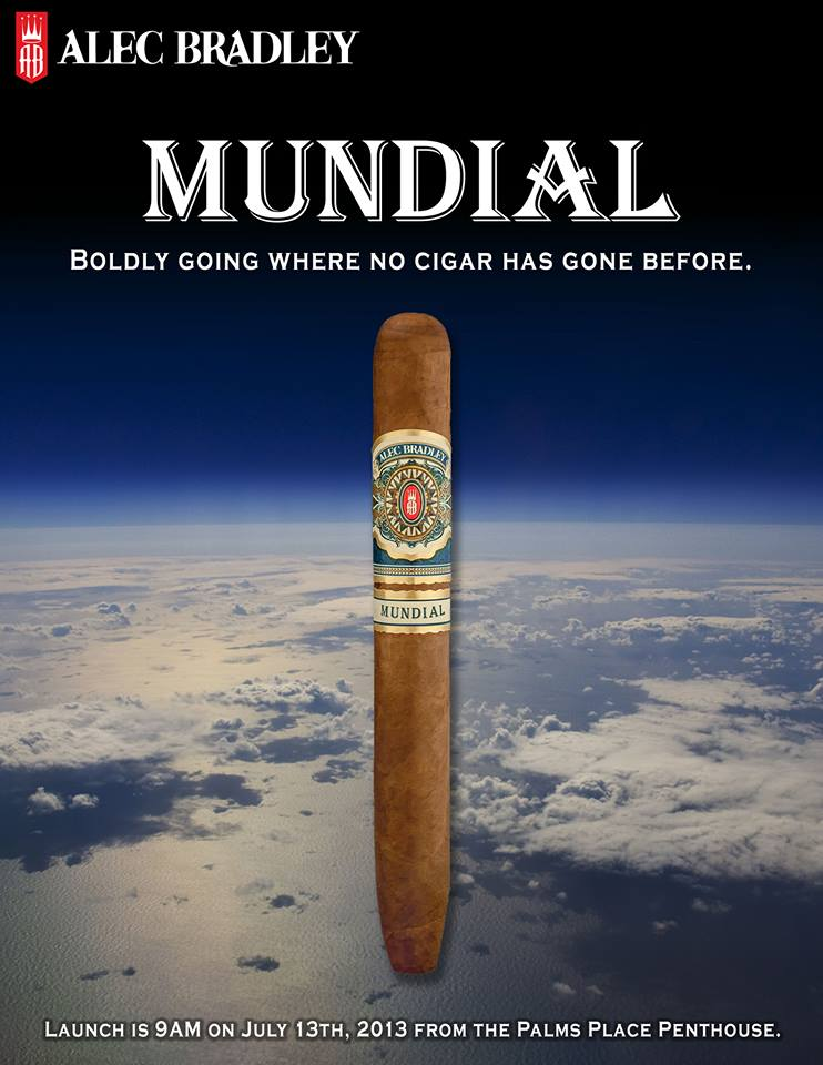 alec bradley mundial cigars space flight ad image