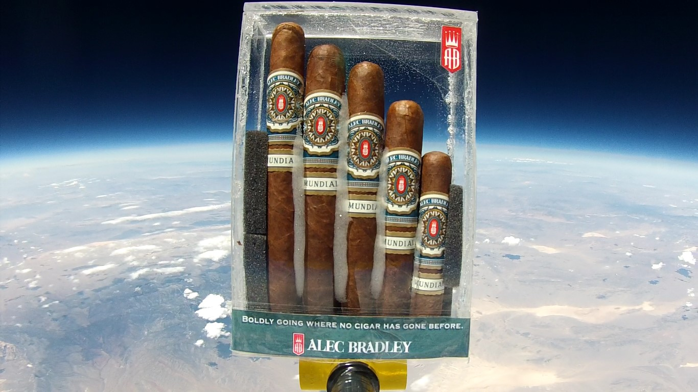 Alec Bradley Mundial No. 8 - Five Pack image