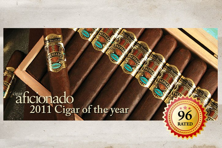 Alec Bradley Prensado Churchill, Box of 20 - #1 Cigar of 2011 image