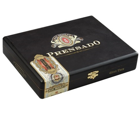 alec bradley prensado cigars box closed image
