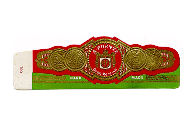 arturo fuente double chateau cigar band image