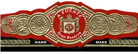arturo fuente don carlos cigars band image