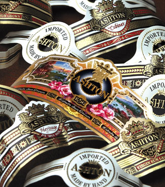 ashton cigar bands image