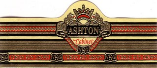 ashton cabinet cigars band image