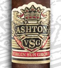 ashton vsg sorceror cigar band close up image