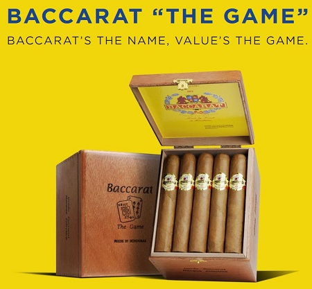 baccarat the game cigars ad image