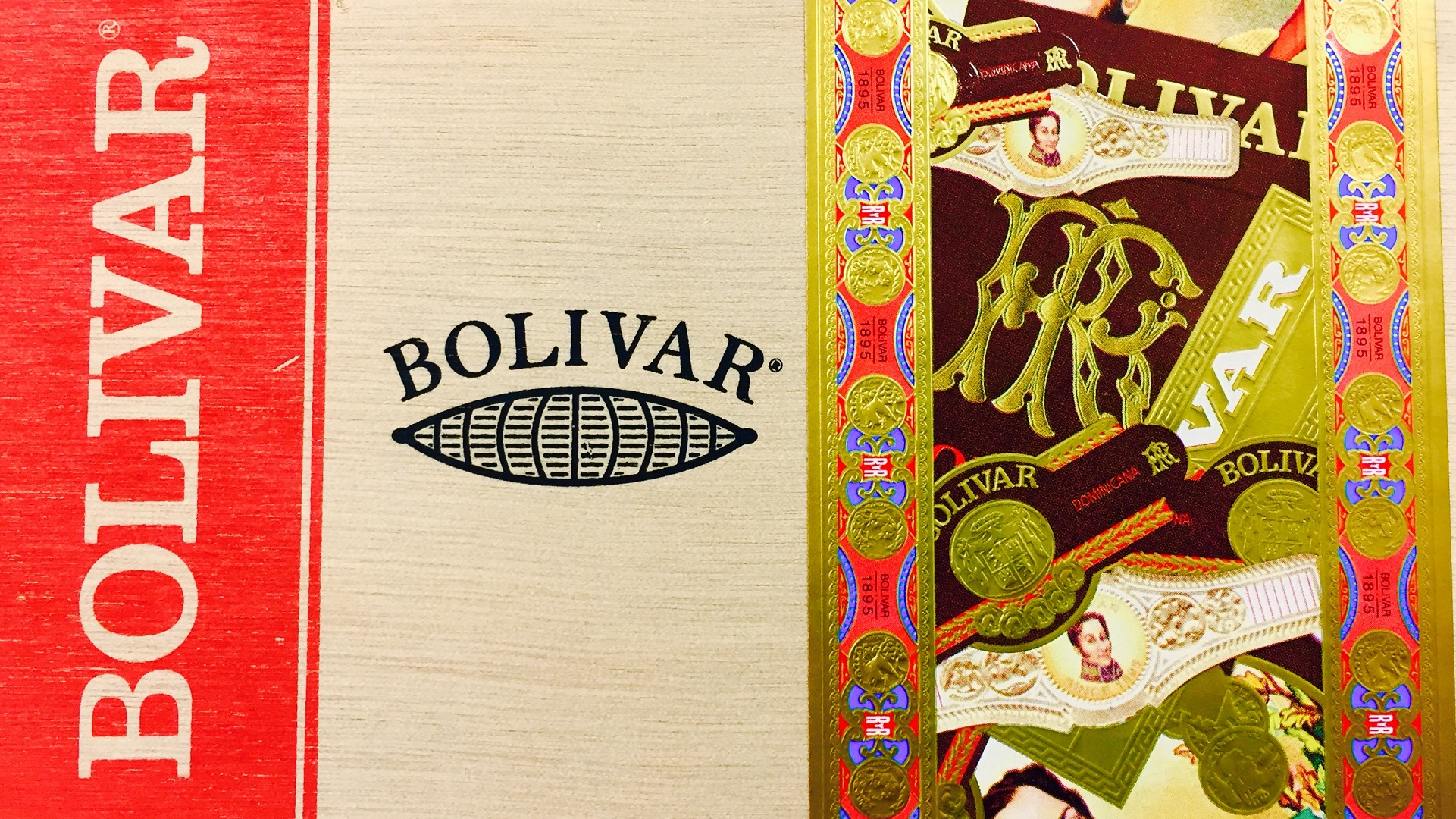 bolivar heritage 652 cigars box top image
