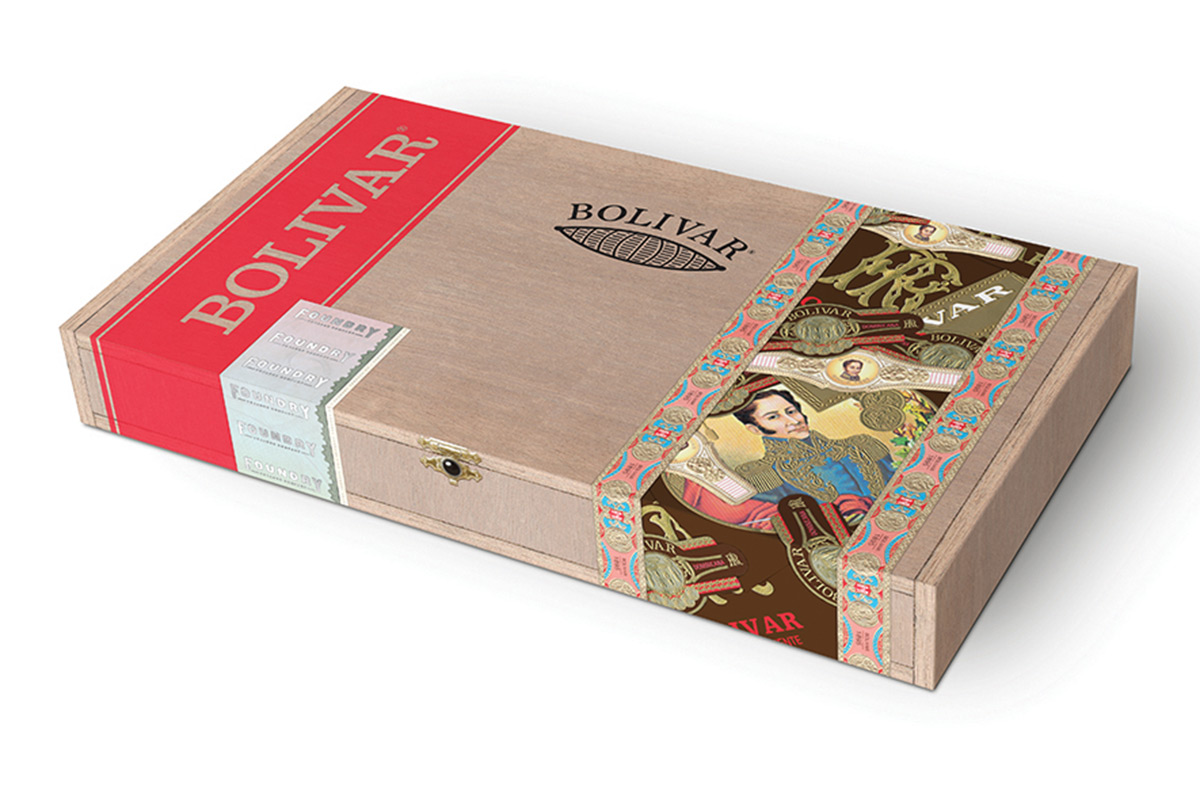 bolivar heritage 652 cigars box closed image