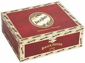 brick house cigar box image
