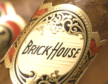 Brick House Cigar Box Label, Matted, 8 x 10 image