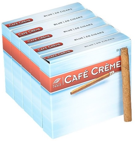 cafe creme blue cigarillos image