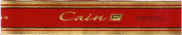 cain f cigars band image