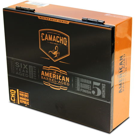 Camacho American Barrel Aged Robusto - Box of 20 image