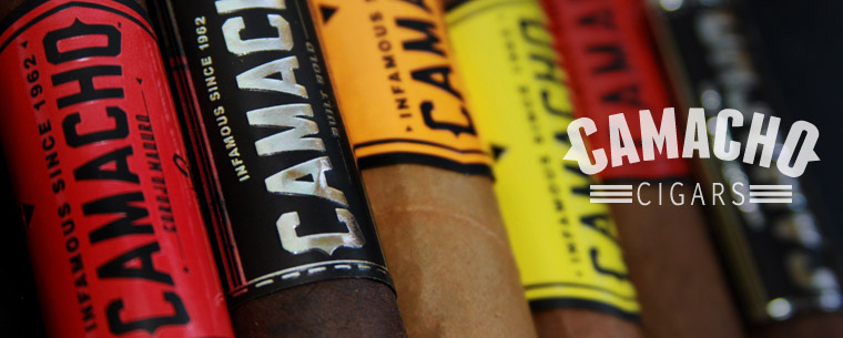 Camacho Corojo Figurado - 5 Pack - Rated 94 by CA image