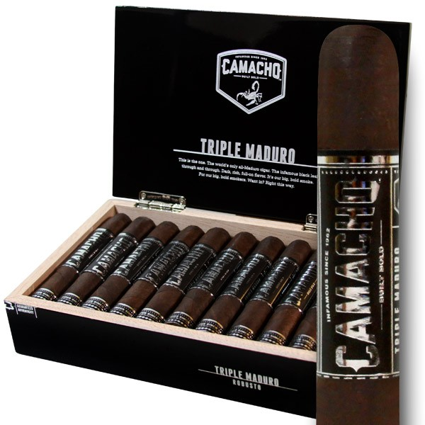 Camacho Triple Maduro Robusto - Box of 20  image