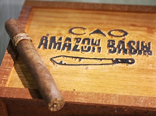 cao amazon basin cigars box closed image