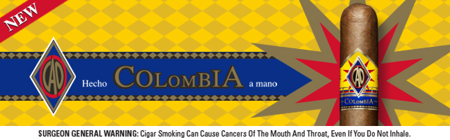 CAO Columbia Vallenato Robusto - Box of 20 image