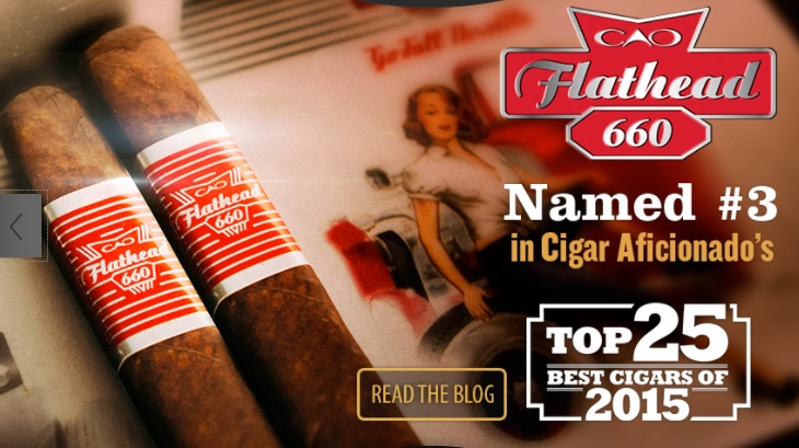 flathead 660 cao cigars sticks image