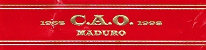 CAO Maduro Cigarillos - 5 packs of 10 cigars image